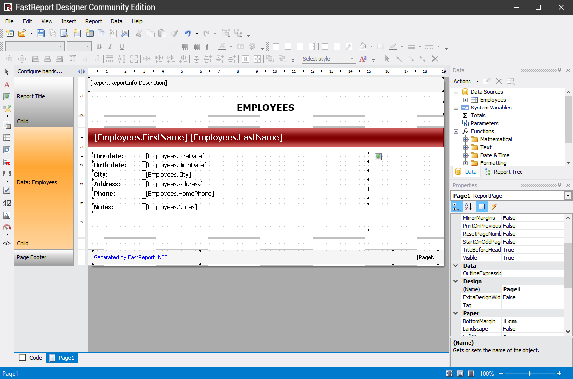 Download FastReport.Net 2020.1.5 Crack Version + Serial Key