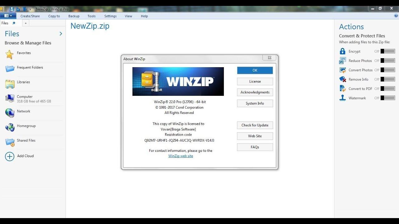 WinZip Pro 24 Crack & License Keys Free Download 2020 {Latest}