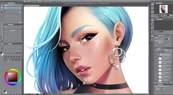 Clip Studio Paint EX 1.9.7 Crack + Serial Number Full Keygen (2020)