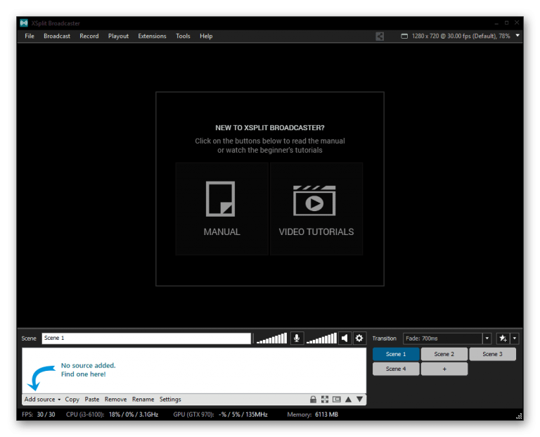 XSplit Broadcaster 3.9.1909.1601 Crack Plus Serial Key Free Download