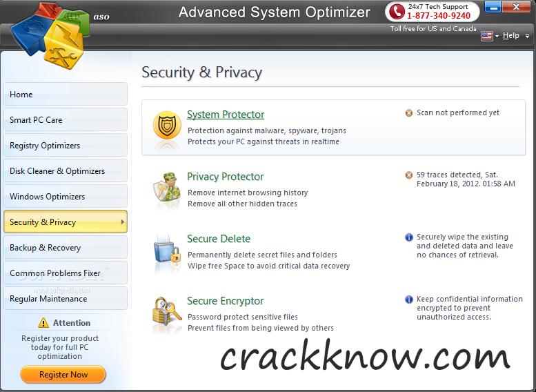 Advanced System Optimizer 3 9 3700 18392 Crack Full Serial Key 2021
