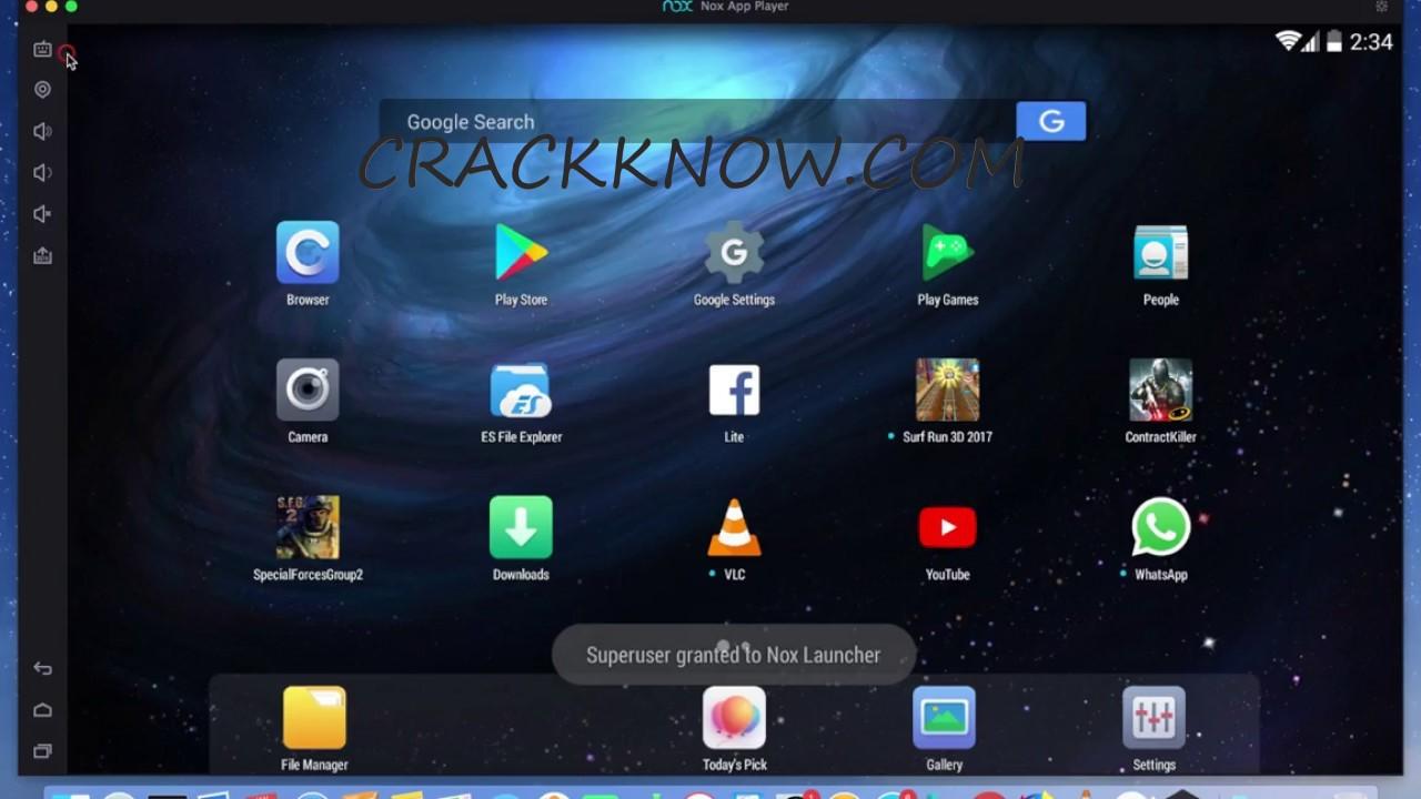Nox Player 6.6.0.6 Crack 2020 Plus Latest Activation Key Download