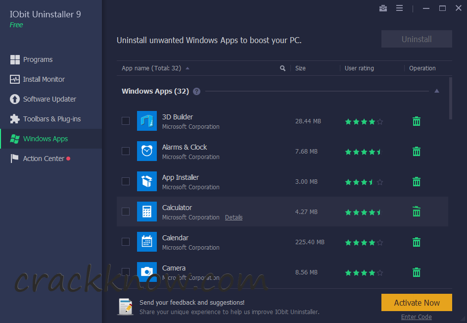 IObit Uninstaller Pro 9.5.0.6 Crack Full Key With Keygen Download (2020)