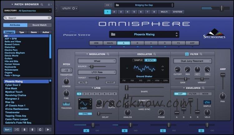 Omnisphere 2.6 Crack With Keygen Plus Torrent Full Version 2020