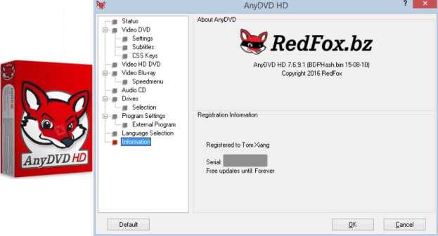 AnyDVD HD 8.4.8.0 Crack With Keygen Incl License Key 2020