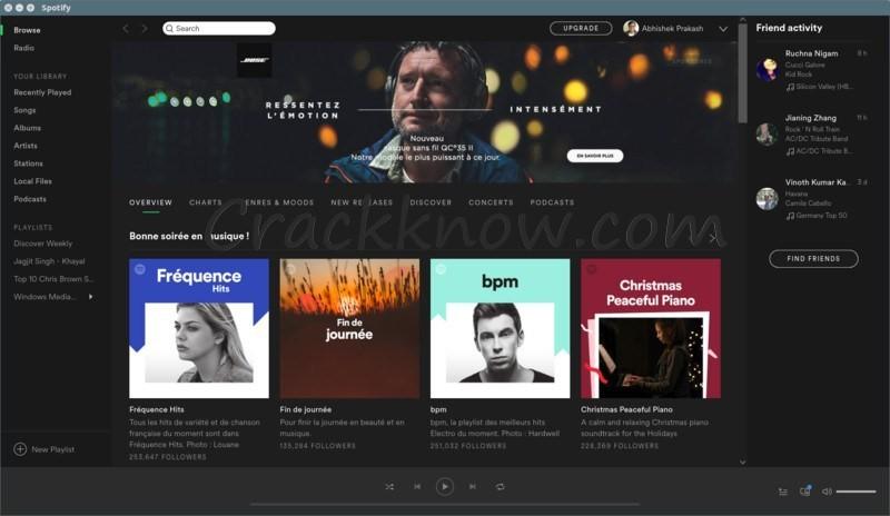 Spotify Premium 8.5.60.1013 APK Crack {Win + Mac + APK} Download 2020