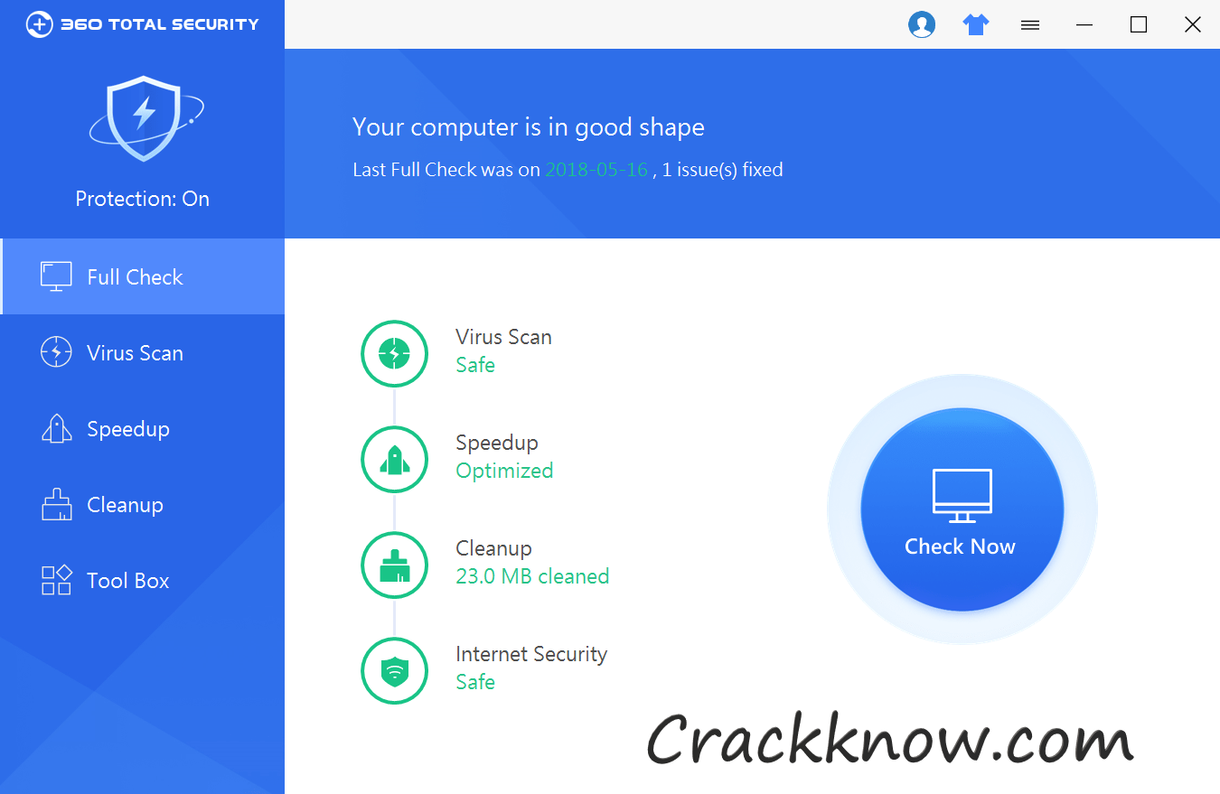 360 Total Security 10.8.0.1060 Crack Full License Key Download (2020)